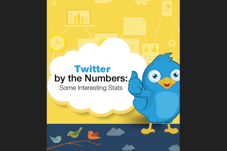 Twitter by the Numbers: Some Interesting Stats Infographic