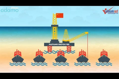 Two months of China's deployment of HD-981 oil rig in Vietnam's waters  Infographic