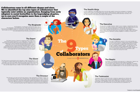 Types of Collaborators Infographic