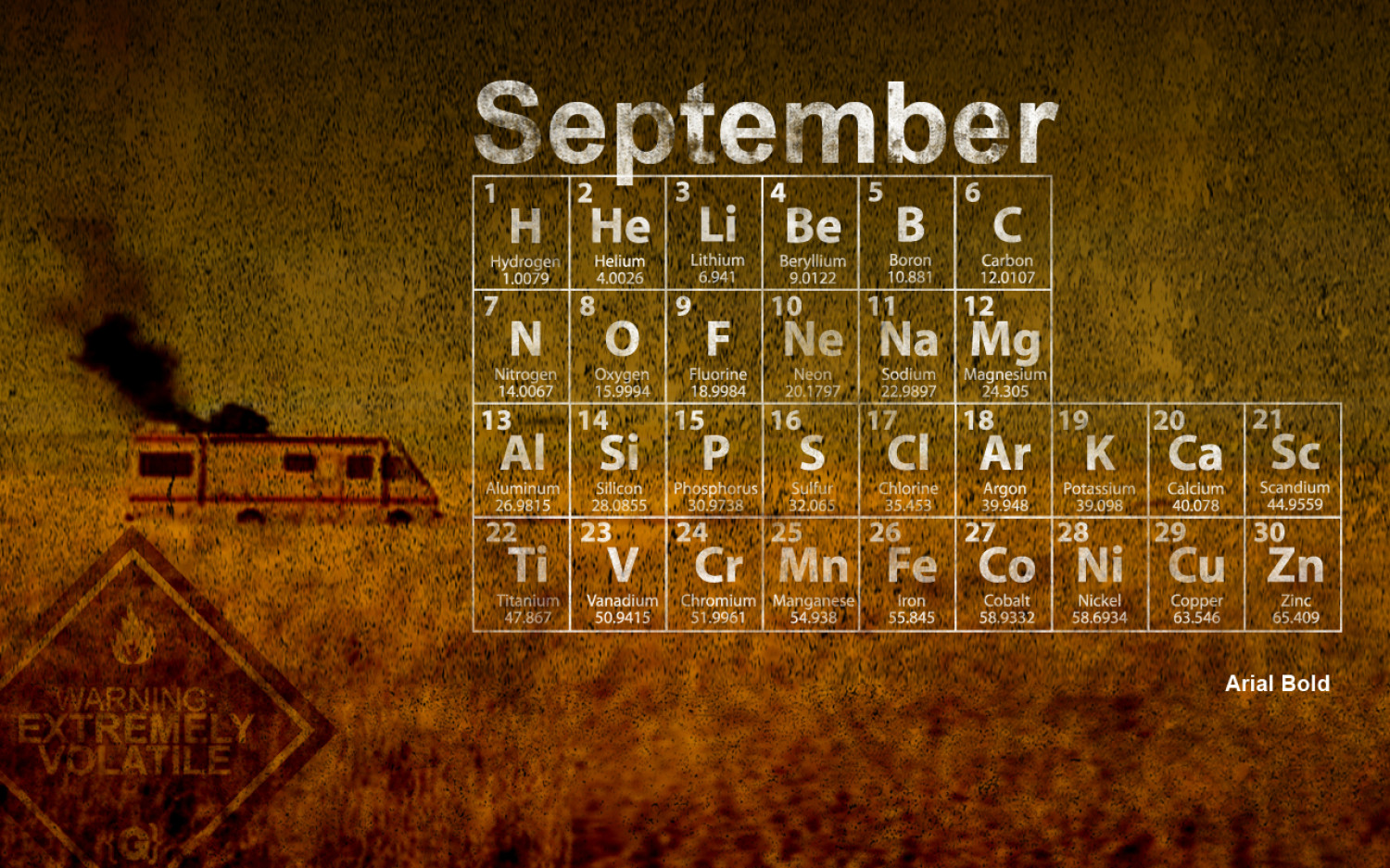 Typography Wallpapers: September 2011 Infographic