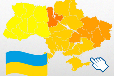 Ukrainian presidential election Infographic