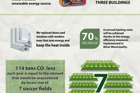 UN agencies - promoting energy efficiency in Bosnia-Herzegovina Infographic