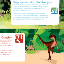 Understanding social media as dinosaurs Infographic