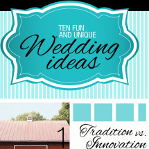 Unique Wedding Ideas Infographic Infographic