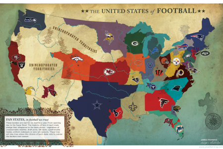 United States of Football Infographic