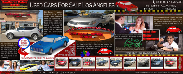 Used Cars For Sale Los Angeles