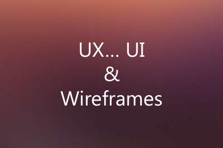 UX, UI & Wireframes Infographic
