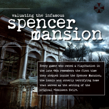 Valuating the Infamous Spencer Mansion Infographic