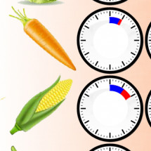 Vegetable Cooking Time Table Infographic