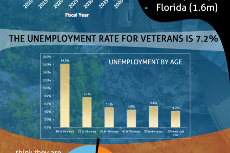 Veteran Unemployment Drops but Miles to Go before We Sleep Infographic