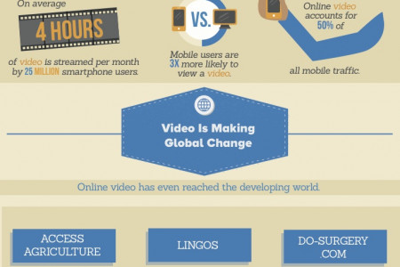 Victory Through Video Infographic