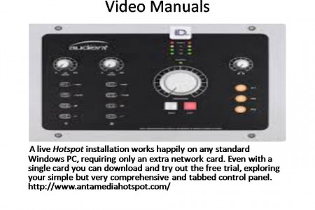 Video Manuals Infographic