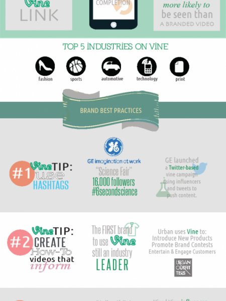 Vine Videos Facts Infographic