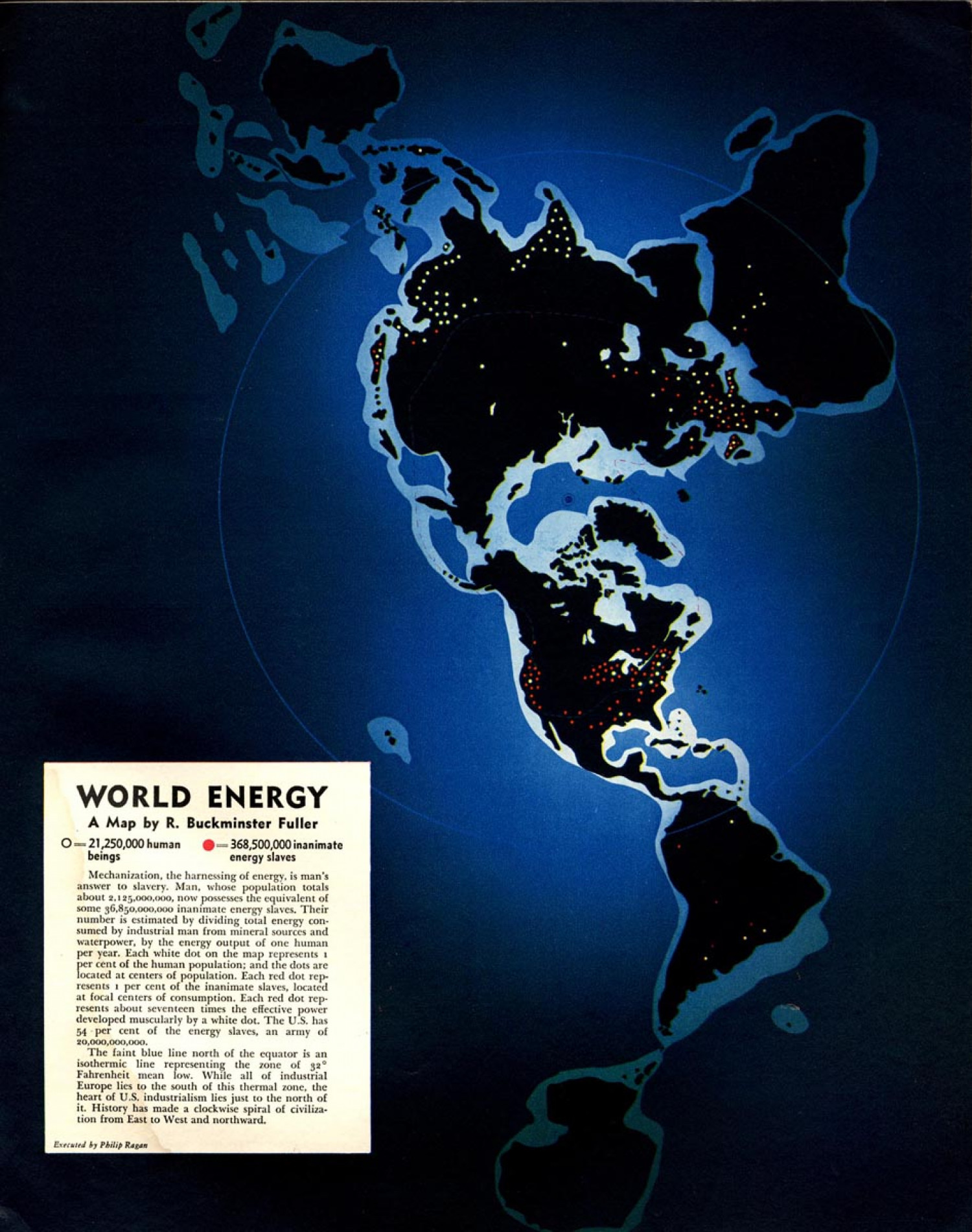 Vintage Infographics from Fortune Magazine Infographic
