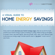 Visual Guide to Reducing Home Energy Costs Infographic