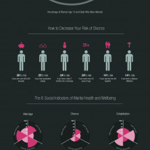 Visualizing the State of Marriage Infographic
