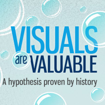 Visuals are Valuable Infographic