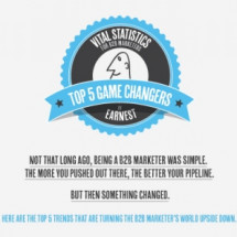 Vital Statistics for B2B Marketers Two Infographic