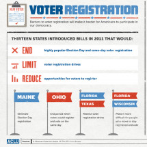 Voter Registration Infographic