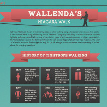 Wallenda's Niagara Walk Infographic
