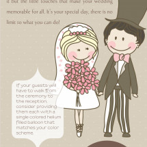 Want to Make Your Wedding Standout?  Infographic