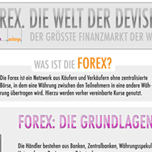 Was ist die Forex? Infographic