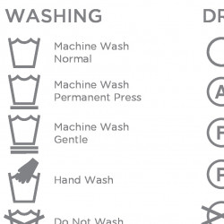 Washing Instruction Symbols Explained | Visual.ly