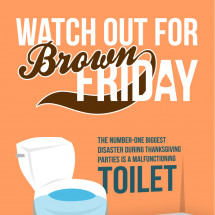 Watch Out for Brown Friday Infographic