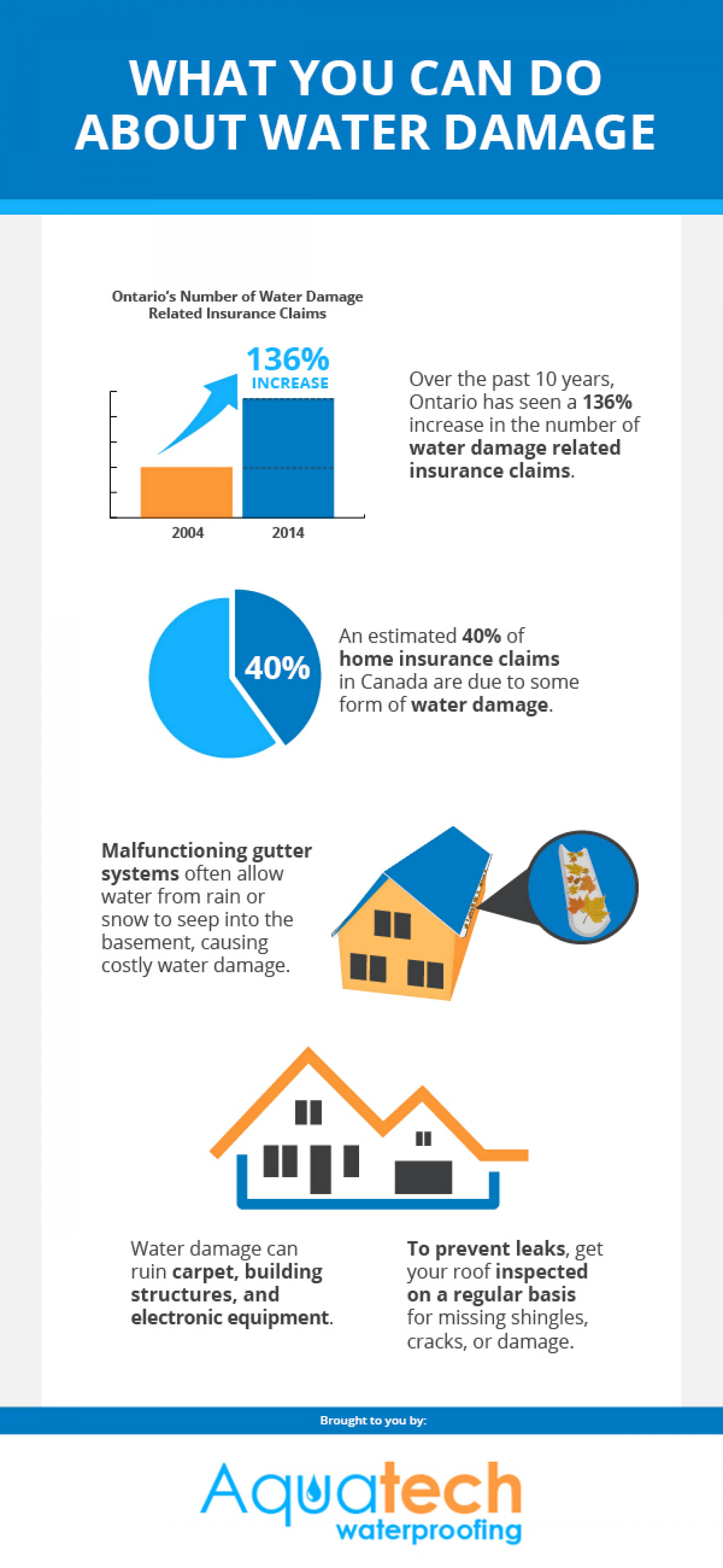 What You Can Do About Water Damage Infographic