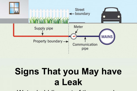 Water Leaks in Your Home - Who's Responsible? Infographic