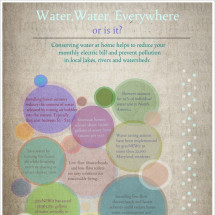 Water, Water, Everywhere - Or is it? Infographic