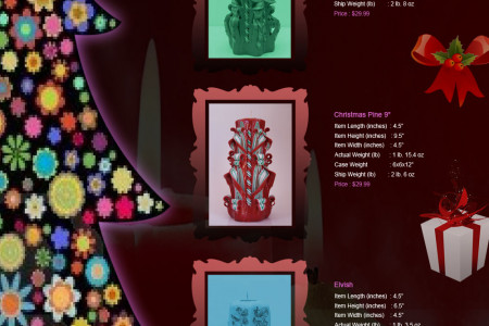 Waxations Christmas Candles Infographic