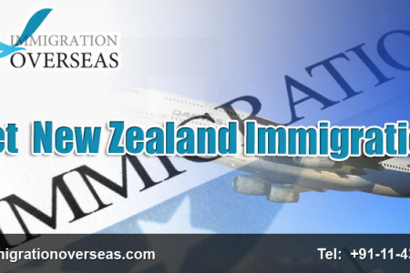 Way to Immigration for New Zealand by Immigration Overseas Infographic