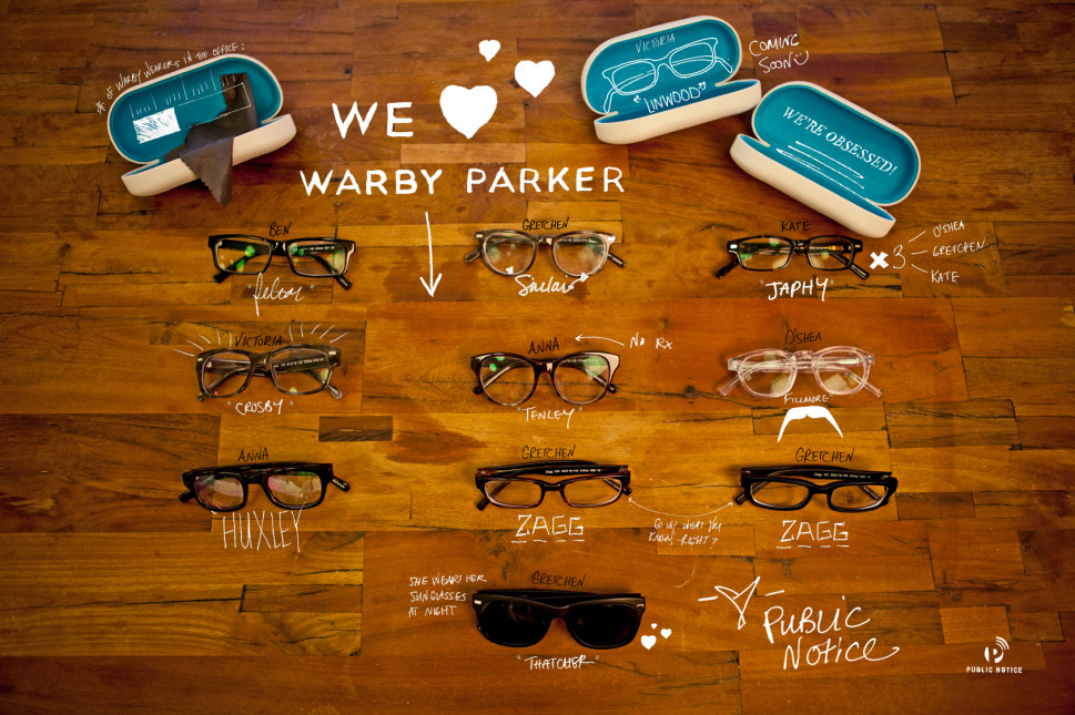 We &lt;3 Warby Parker Infographic