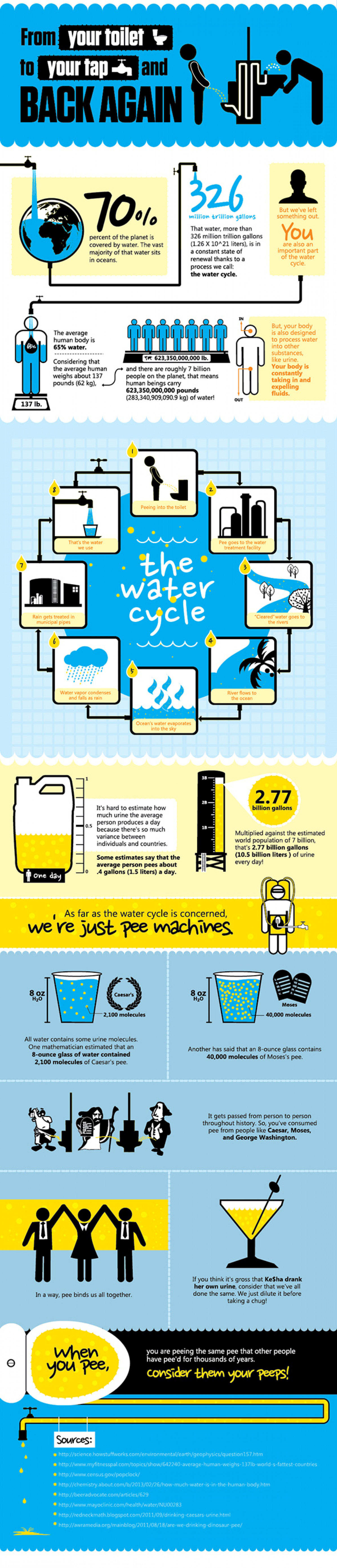 From Your Toilet to Your Tap and Back Again Infographic