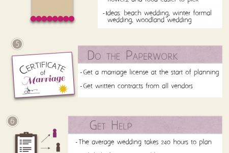 Wedding Checklist Infographic