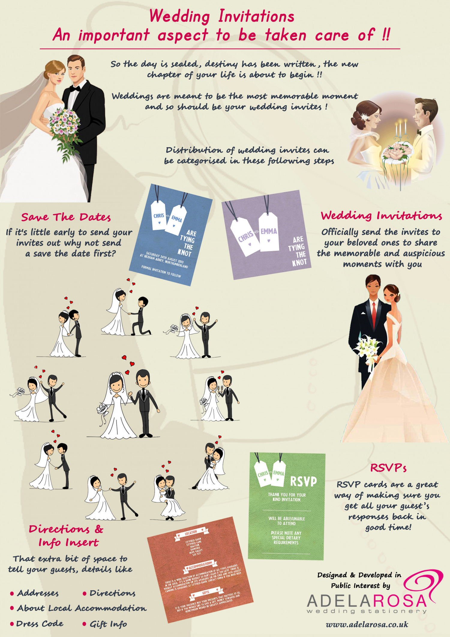 Wedding Invitations: An Important Aspect To Be Taken Care Of Infographic