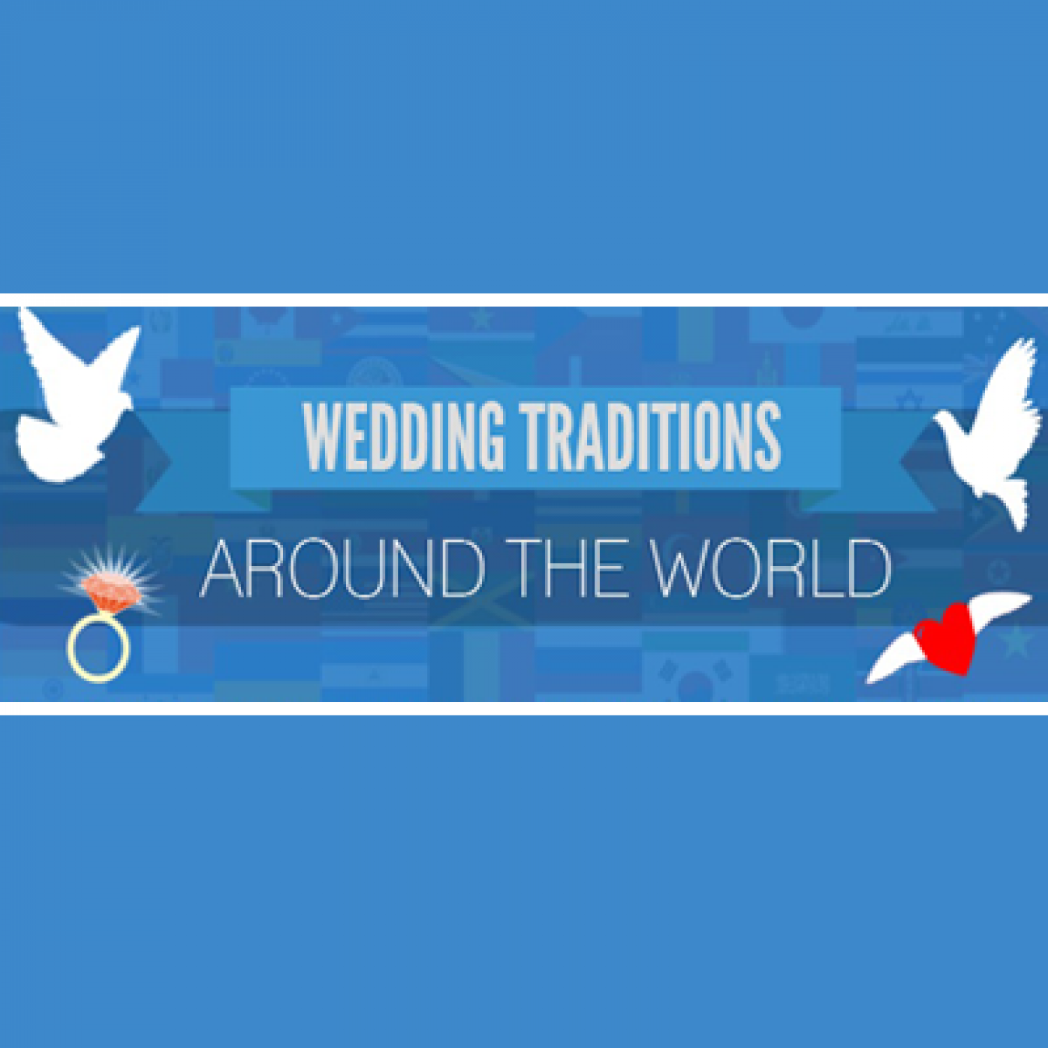 Weird & Wonderful Wedding Traditions from Around the World Infographic