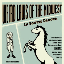 Weird Laws Of The Midwest Infographic