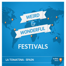 Weird & Wonderful Festivals Infographic