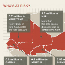 West Africa Food Crisis Infographic