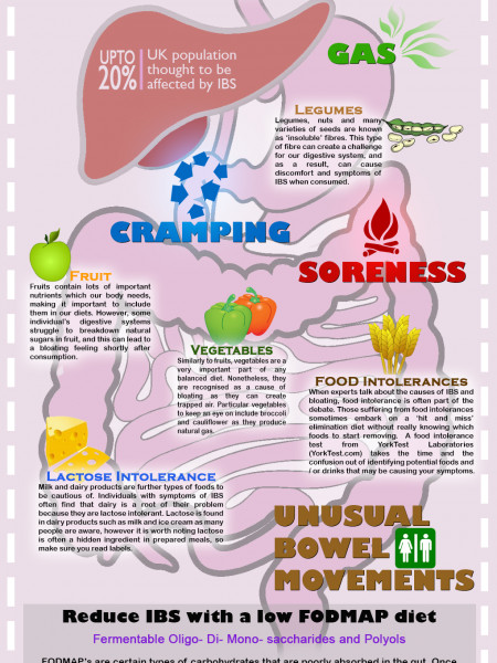 What causes IBS?! Infographic