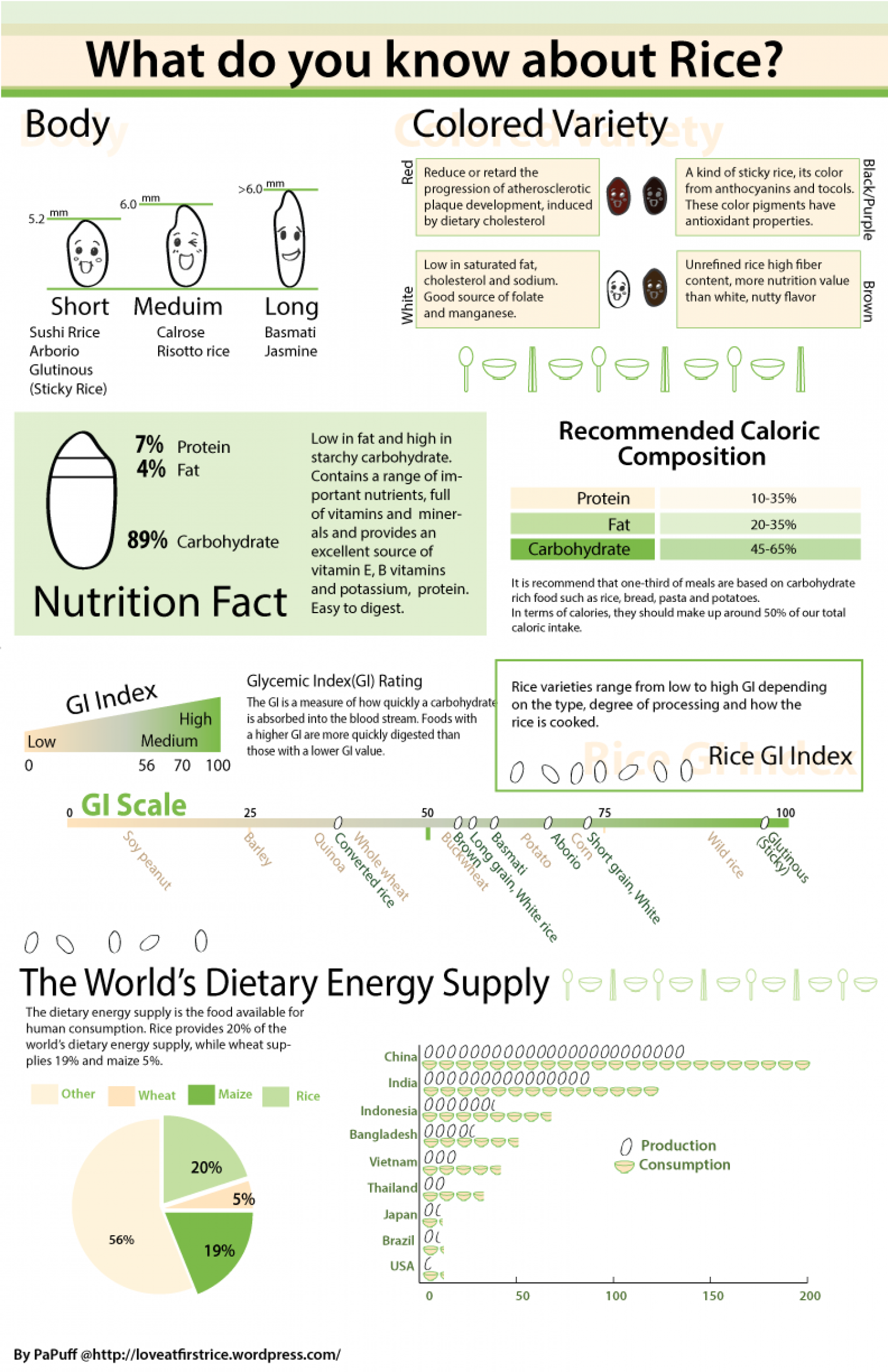 What do you know about rice? Infographic