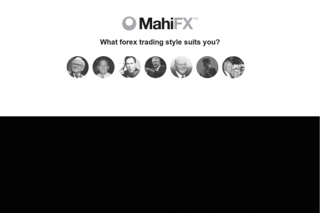 What Forex Trading Style Suits You? - The Mean Reversion Trader Infographic