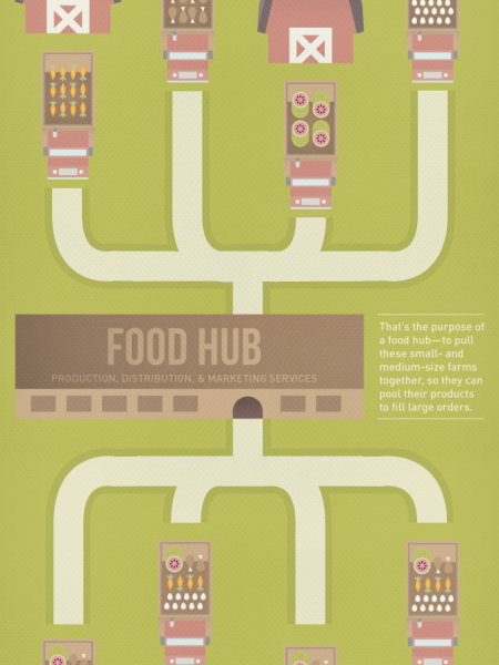 What is a Food Hub? Infographic