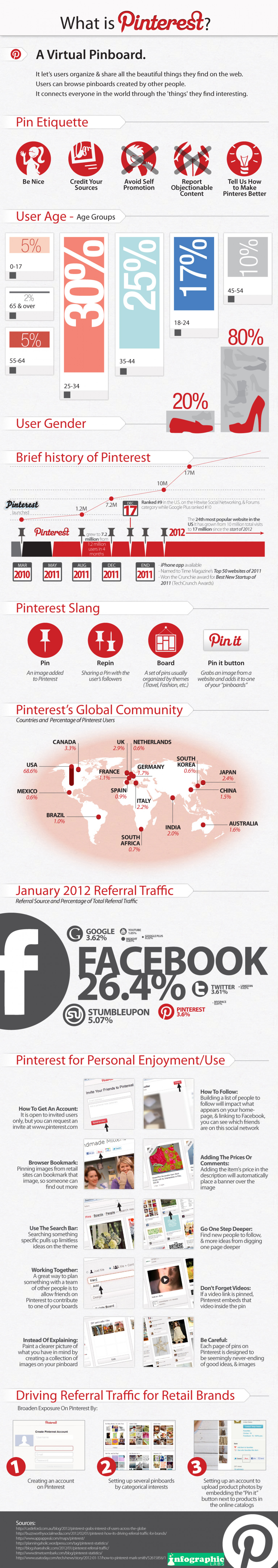 What is Pinterest? Infographic