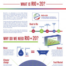 What is Rio+20 Infographic