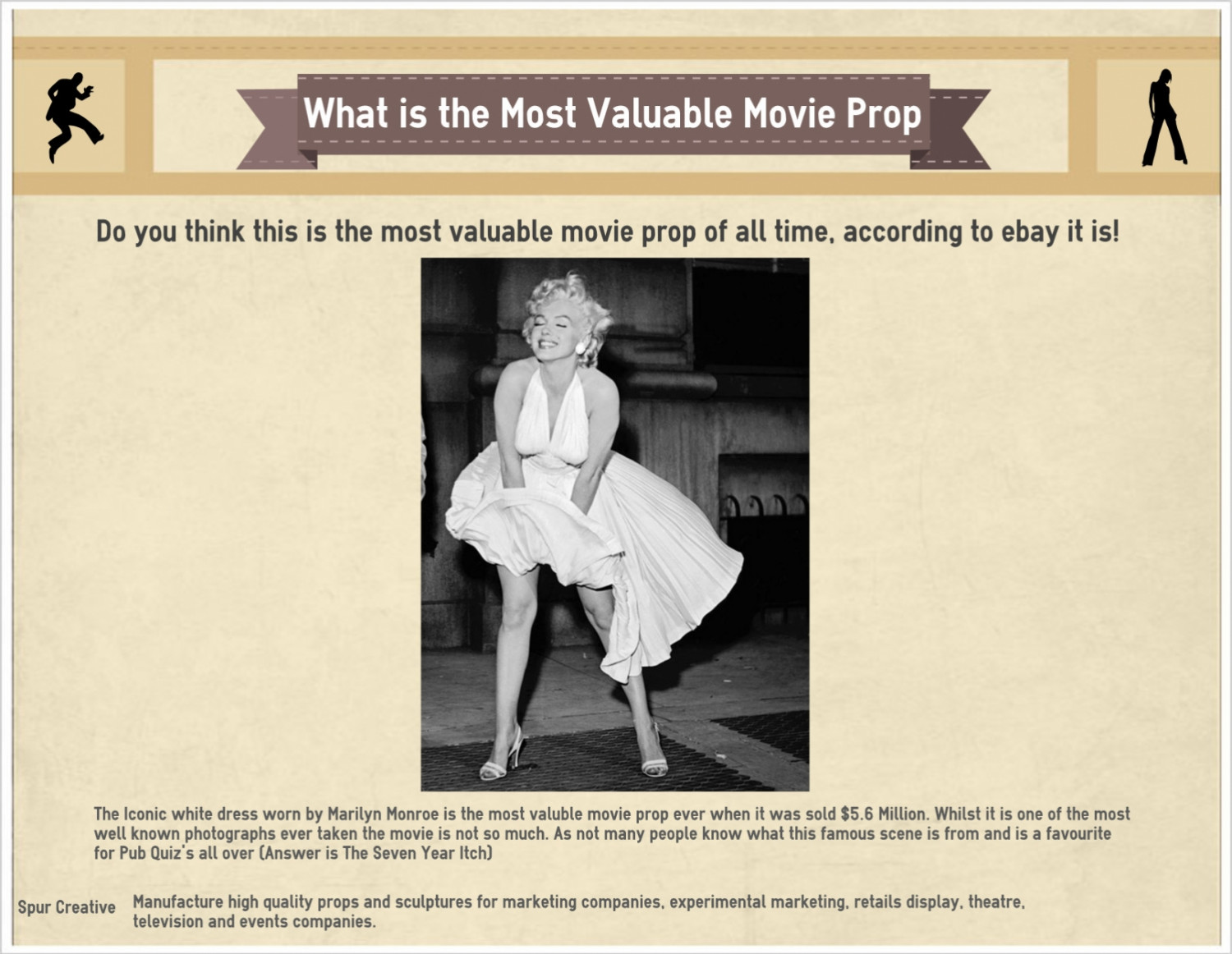 What Is the Most Valuable Movie Prop Infographic