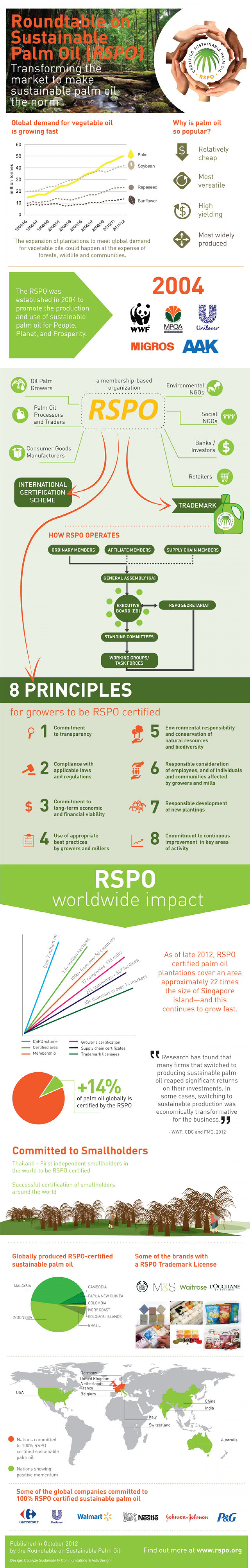 What is the Roundtable on Sustainable Palm Oil? Infographic