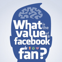 What is the value of a Facebook fan? Infographic